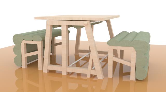 多功能组合桌椅(沙发,床)