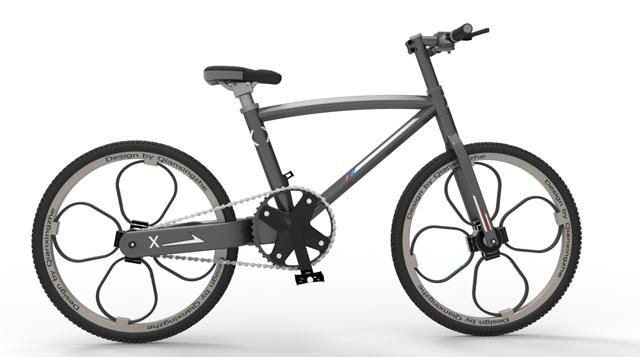 前行者自行车